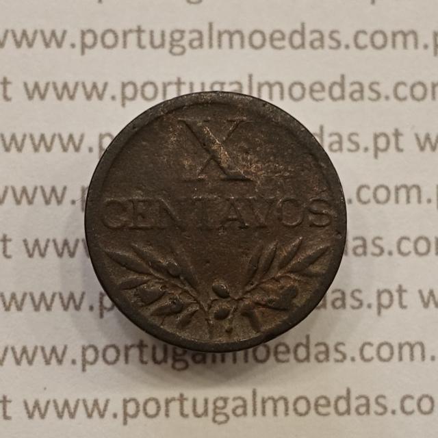 MOEDA DE DEZ CENTAVOS (X CENTAVOS) BRONZE 1947 BC