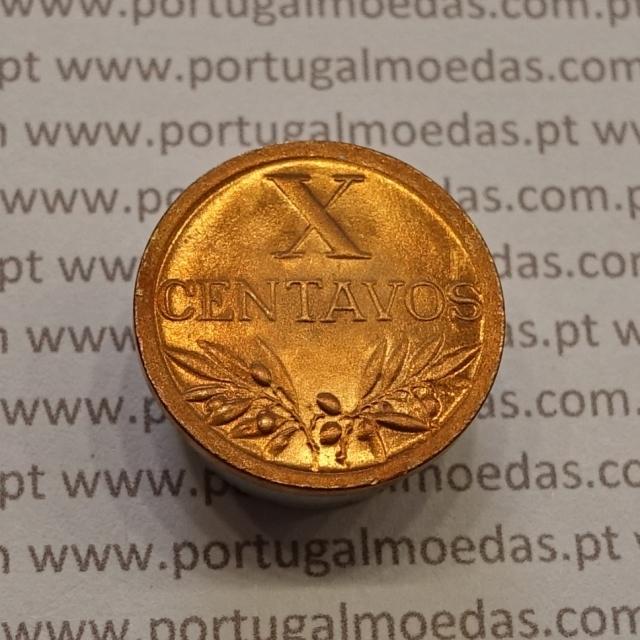 MOEDA DE DEZ CENTAVOS (X CENTAVOS) BRONZE 1948 SOBERBA