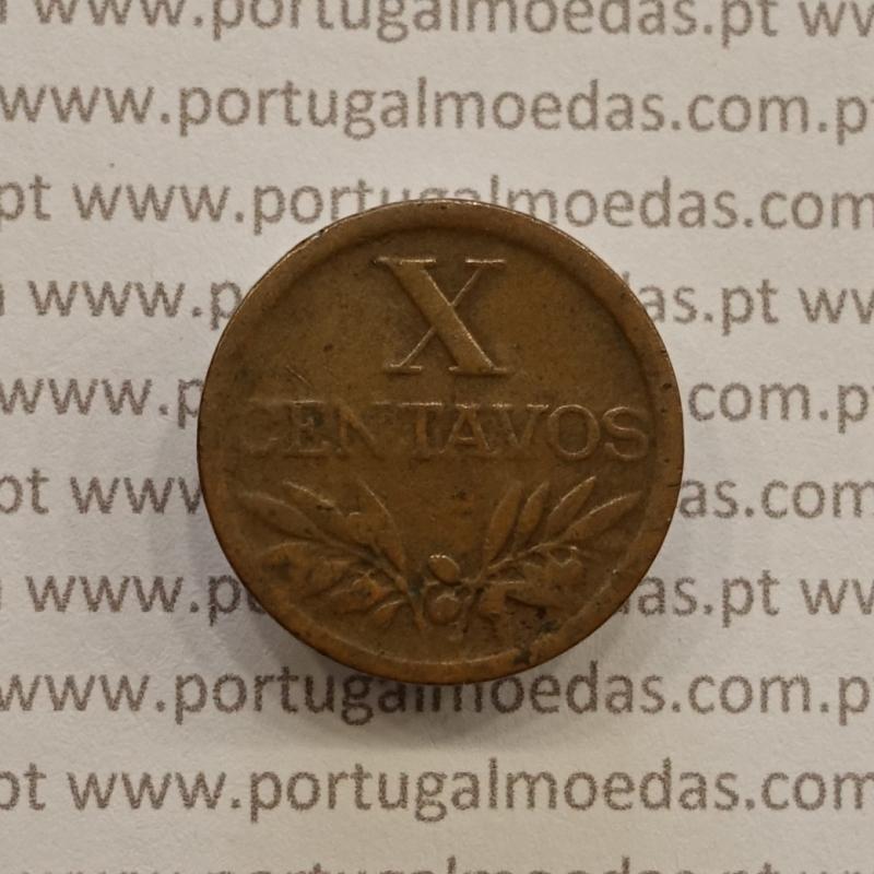 MOEDA DE DEZ CENTAVOS (X CENTAVOS) BRONZE 1949 BC
