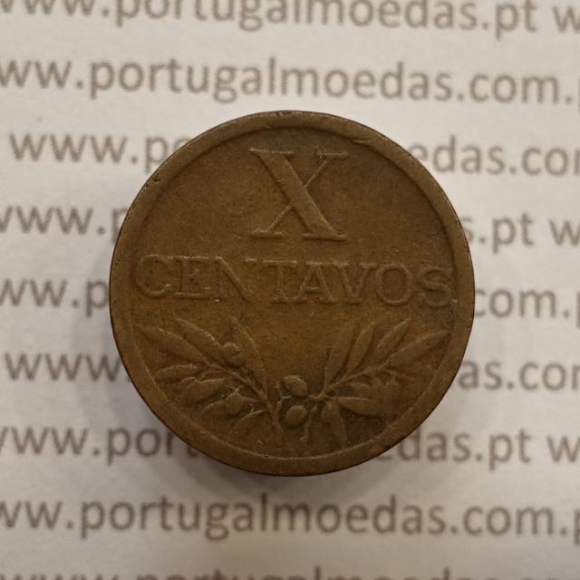 MOEDA DE DEZ CENTAVOS (X CENTAVOS) BRONZE 1951 BC
