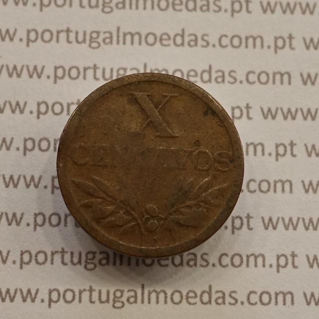 MOEDA DE DEZ CENTAVOS (X CENTAVOS) BRONZE 1952 BC