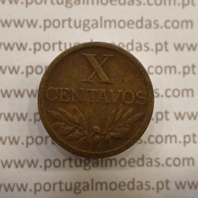 MOEDA DE DEZ CENTAVOS (X CENTAVOS) BRONZE 1953 BC