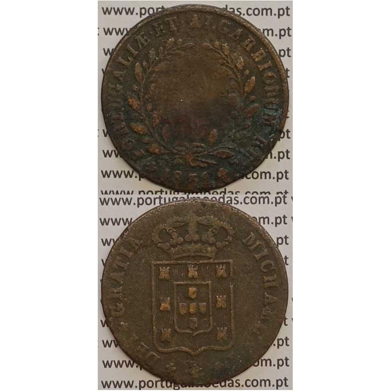 MOEDA X REIS COBRE 1831 (BC-) - D. MIGUEL I