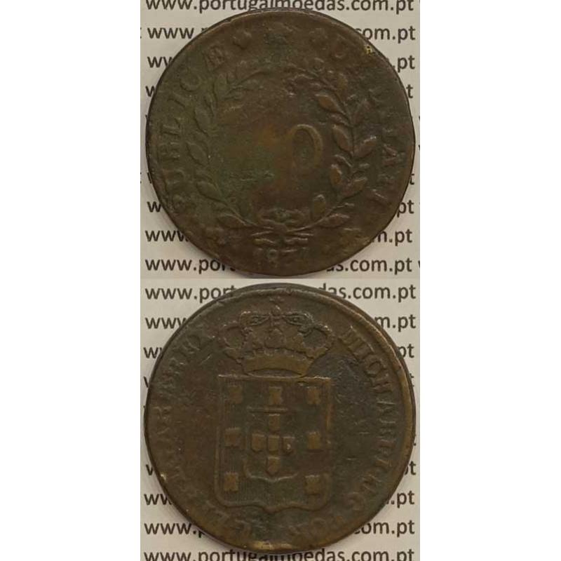 MOEDA PATACO (40 RÉIS) BRONZE 1831 (BC) - D.MIGUEL I