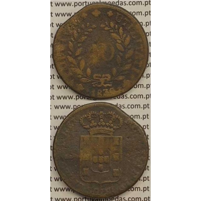 MOEDA PATACO (40 RÉIS) BRONZE 1832 (BC-) - D.MIGUEL I