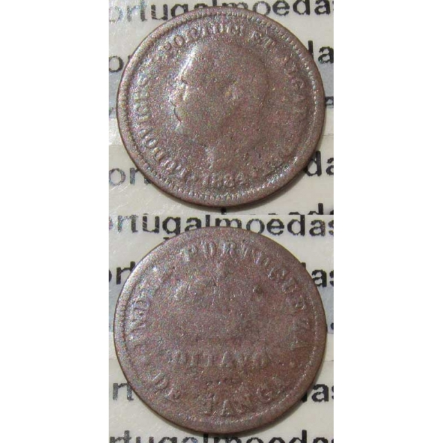 OITAVO DE TANGA 1884 - ÍNDIA (BC-)