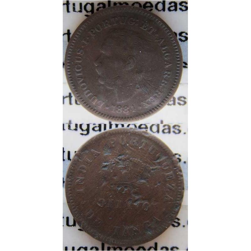 OITAVO DE TANGA 1884 - ÍNDIA (BC)