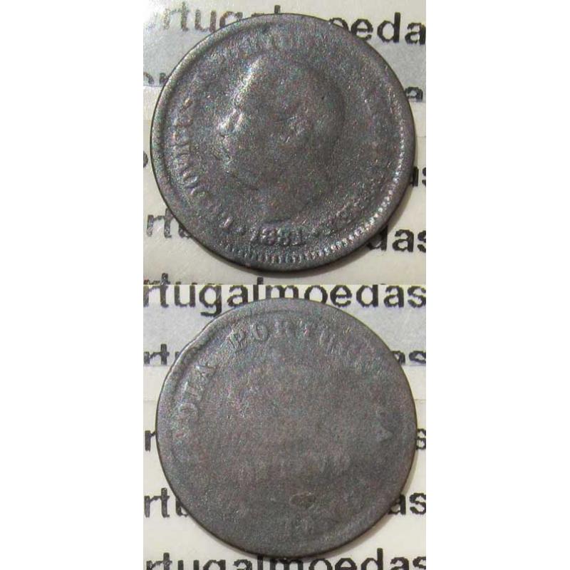 OITAVO DE TANGA 1881 - ÍNDIA (BC)