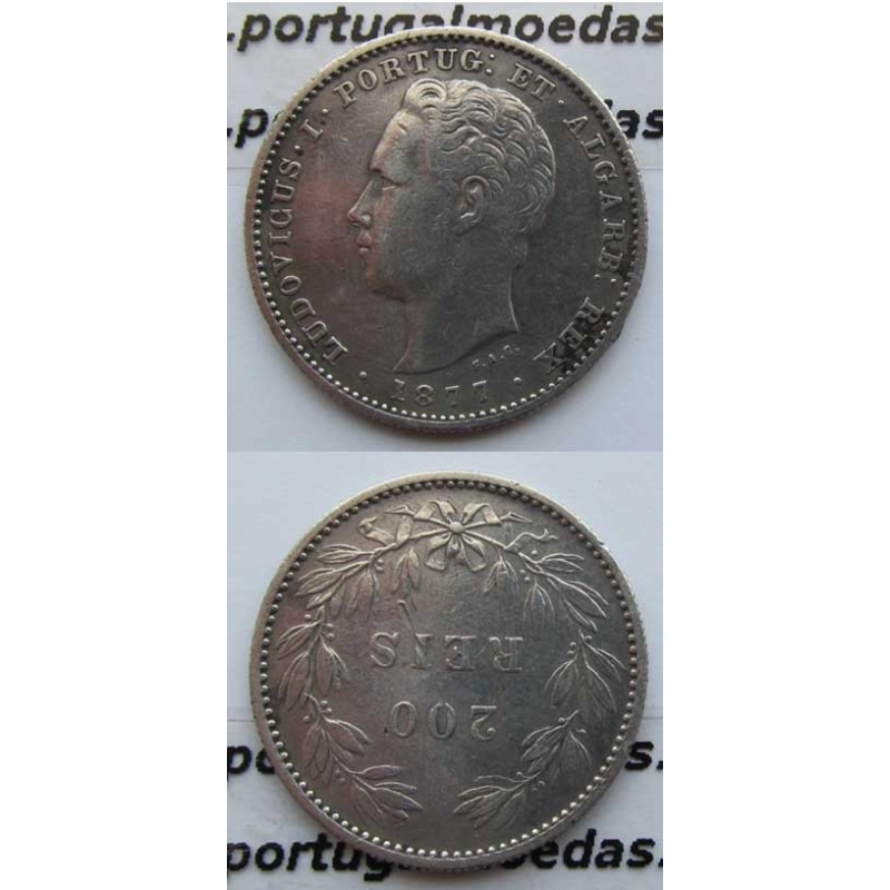 200 REIS PRATA 1877 (MBC)