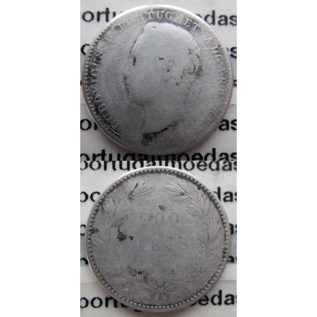 200 REIS PRATA 1877 (REG)