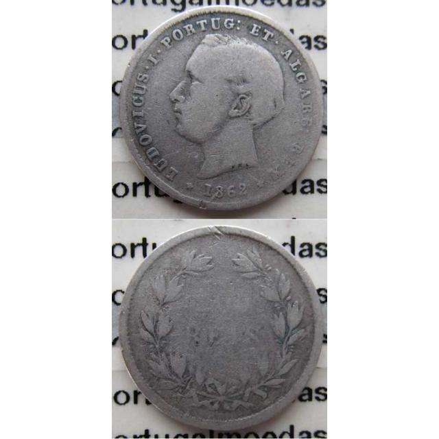 200 REIS PRATA 1862 (BC)