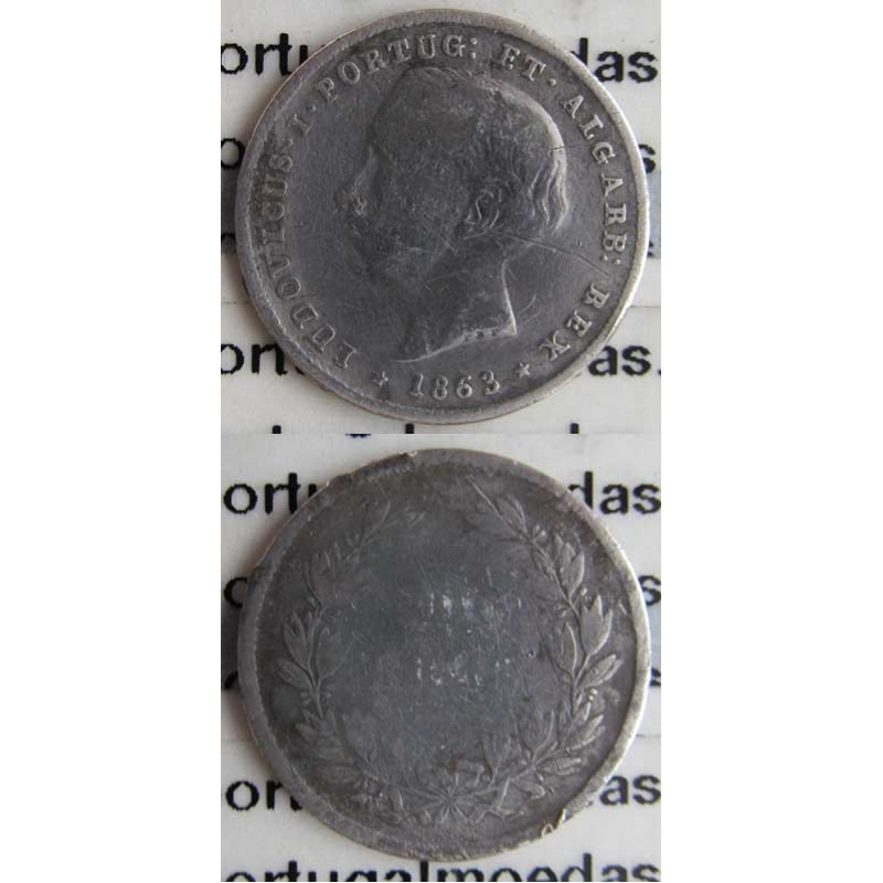 200 REIS PRATA 1863 (BC)