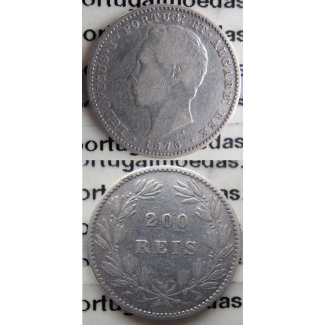 200 REIS PRATA 1875 (BC)