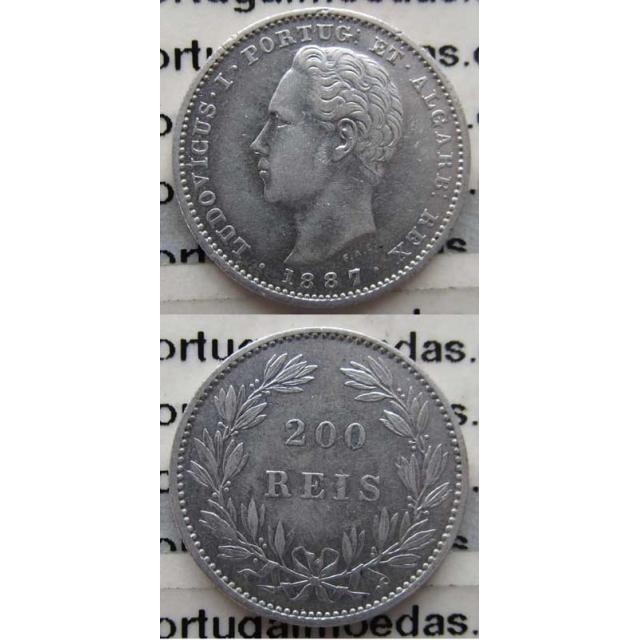 200 REIS PRATA 1887 (MBC+)