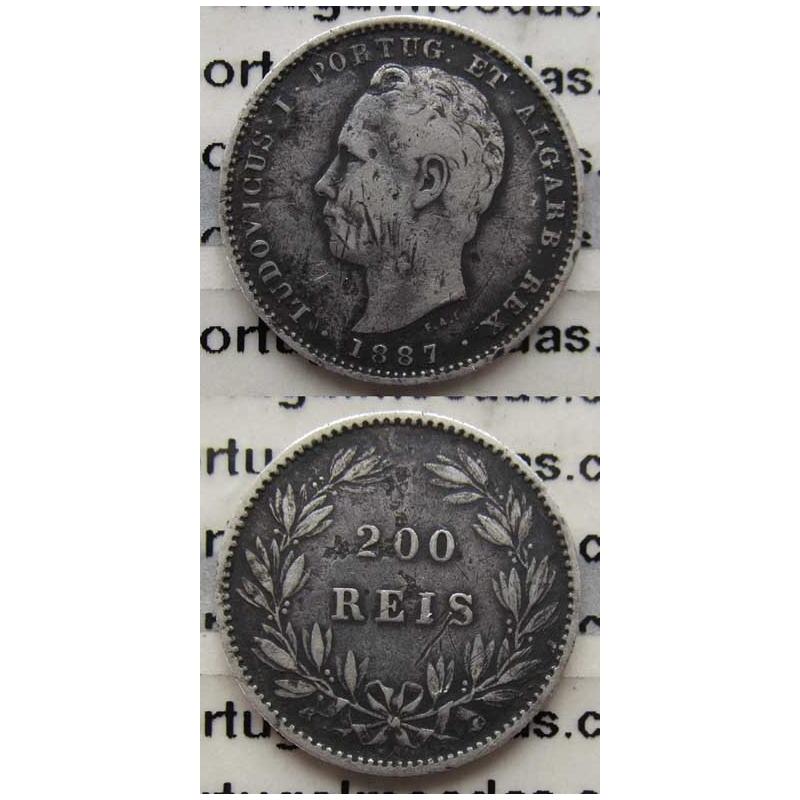 200 REIS PRATA 1887 (BC)