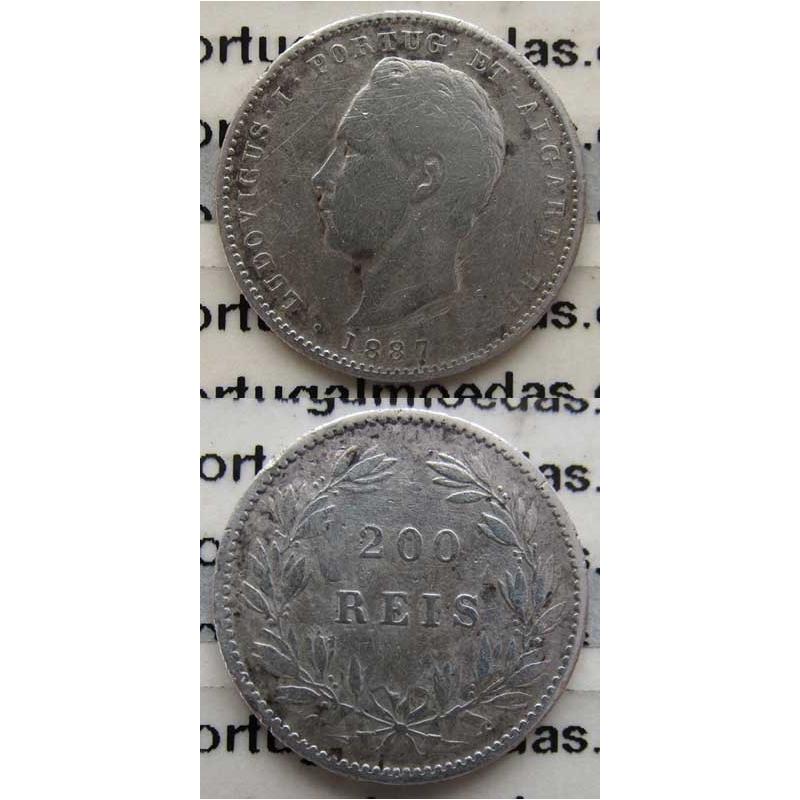 200 REIS PRATA 1887 (BC-)