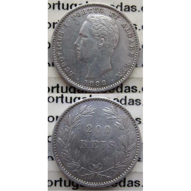 200 REIS PRATA 1888 (MBC+)