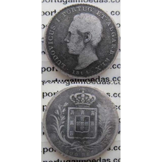 500 REIS PRATA 1864 (BC)