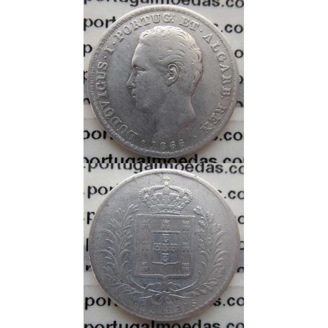 500 REIS PRATA 1866 (BC)