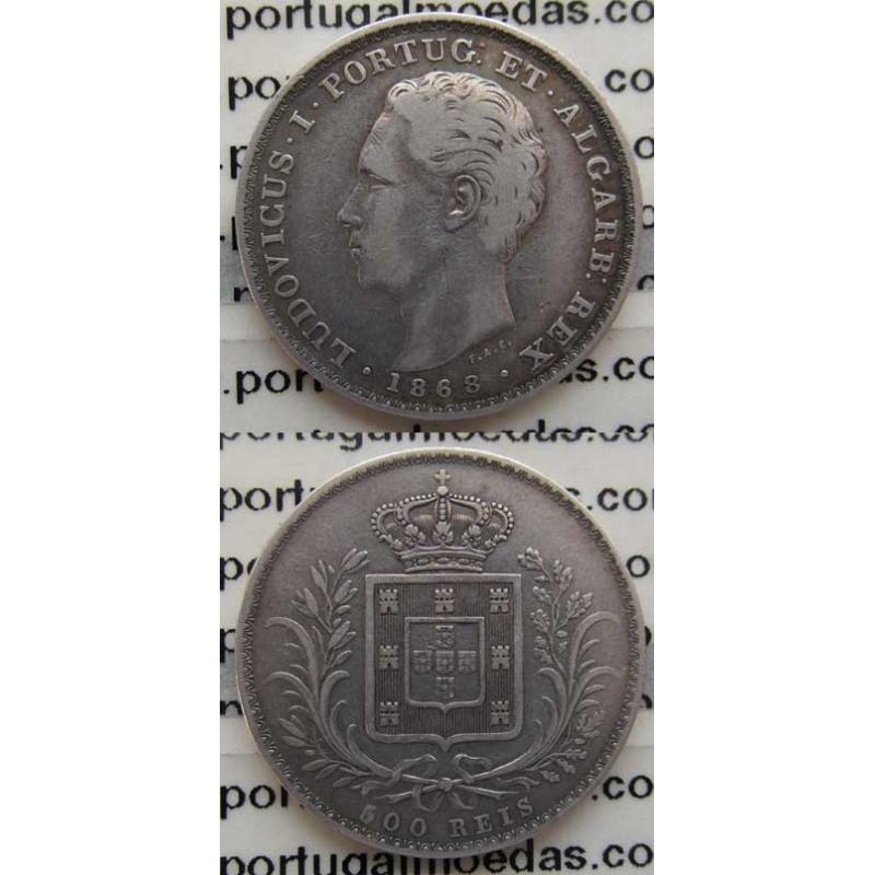 500 REIS PRATA 1868 (MBC)