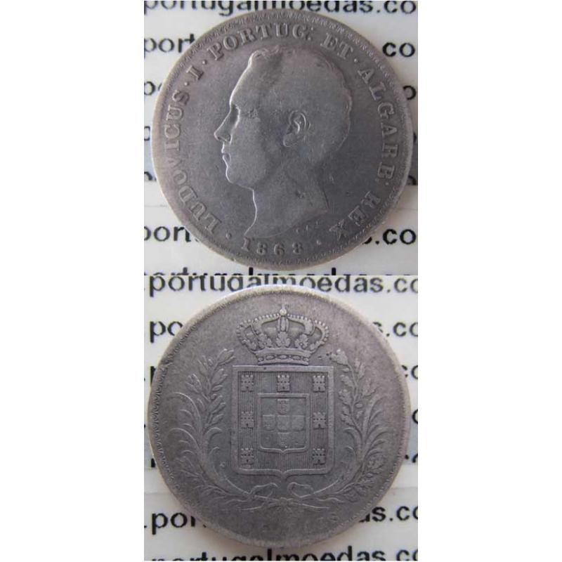 500 REIS PRATA 1868 (BC)