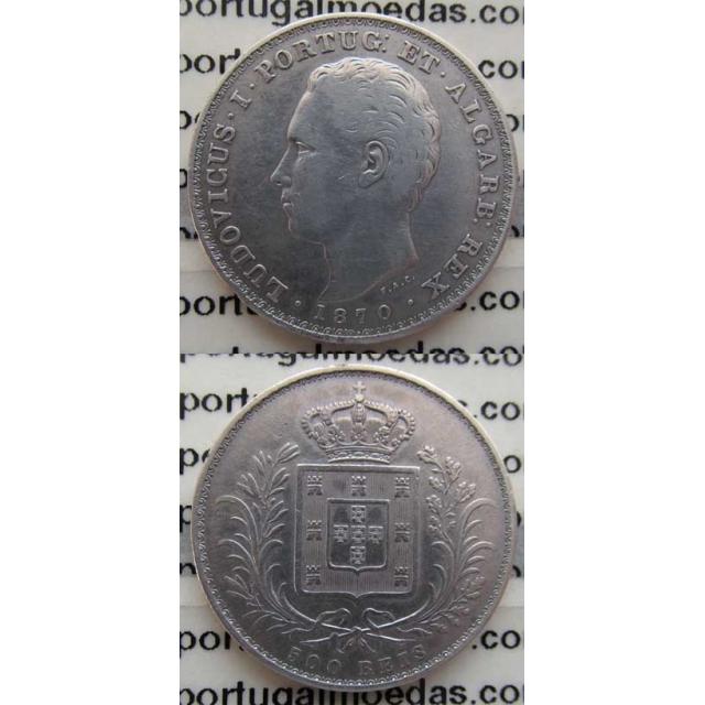 500 REIS PRATA 1870 (MBC)