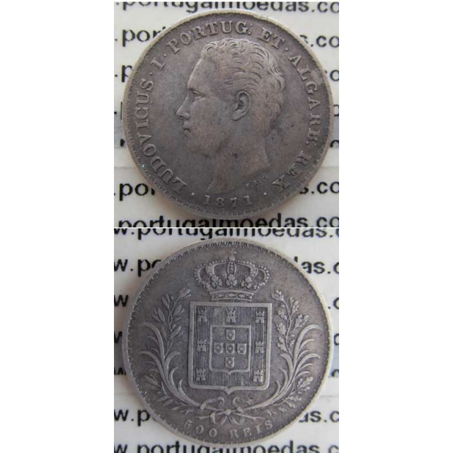 500 REIS PRATA 1871 (MBC)