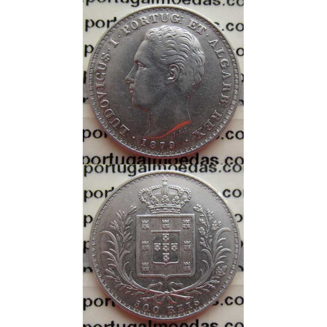 500 REIS PRATA 1879 (MBC+)