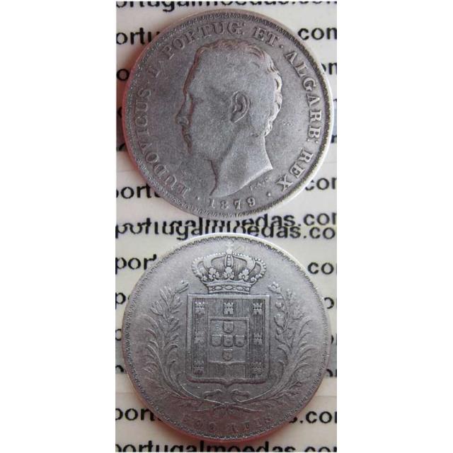 500 REIS PRATA 1879 (BC+)