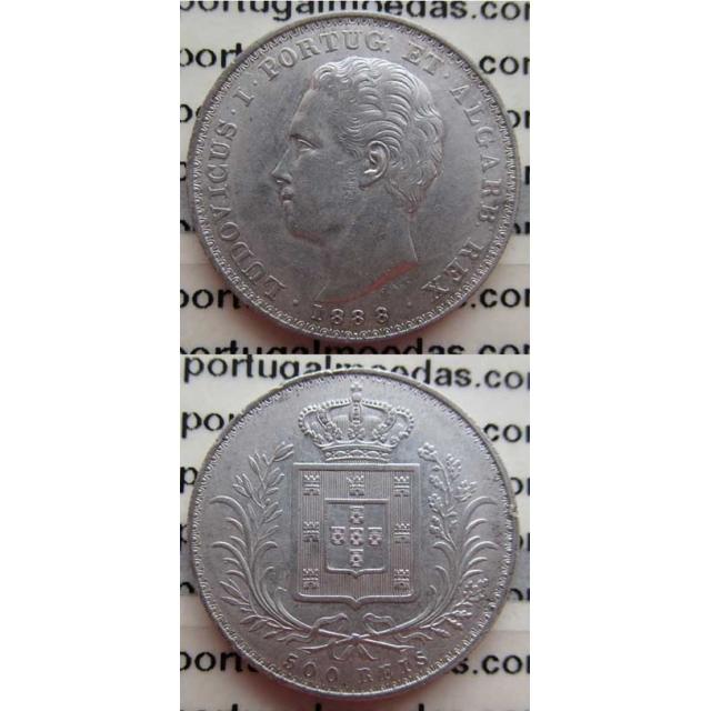 500 REIS PRATA 1888 (MBC+)
