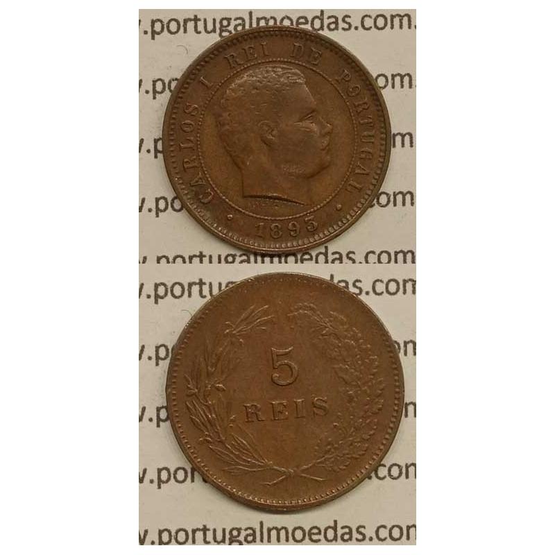 5 REIS BRONZE 1893 (MBC) - D. CARLOS I