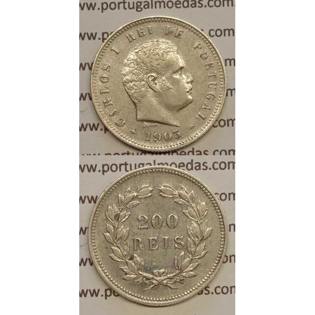 200 REIS PRATA 1903 (MBC+) - D. CARLOS I