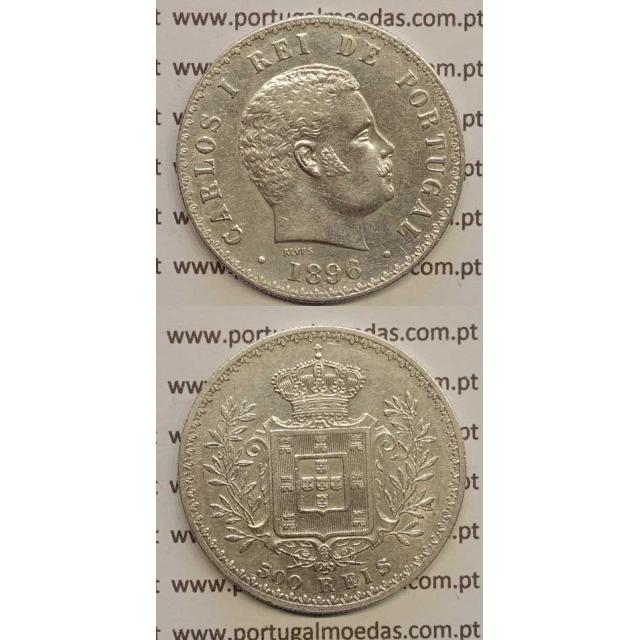 500 REIS PRATA 1896 (MBC+) D. CARLOS I