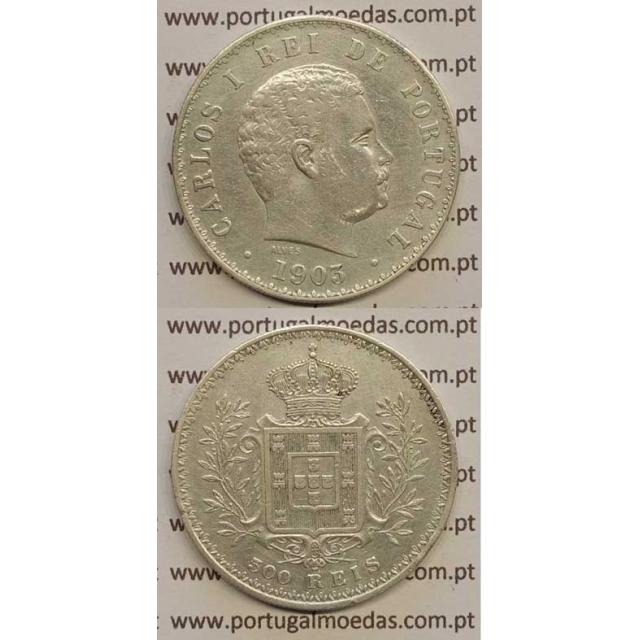 500 REIS PRATA 1903 (MBC+) D. CARLOS I