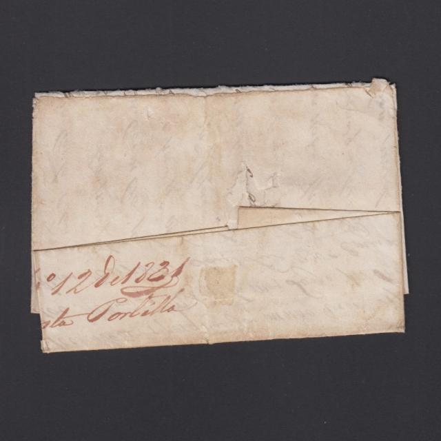 """Carta Pré-Filatélica circulada de Celorico """"SELORICO"""" para Lisboa datada de 13-09-1831"""