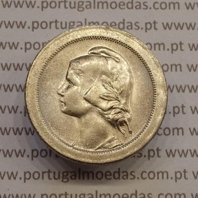 MOEDA DE VINTE CENTAVOS (20 CENTAVOS) CUPRO-NÍQUEL 1921 SOBERBA