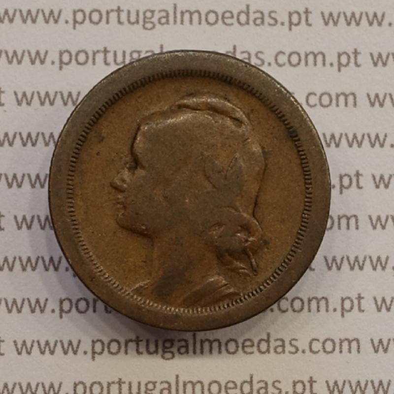 MOEDA DE VINTE CENTAVOS (20 CENTAVOS) BRONZE 1925 BC