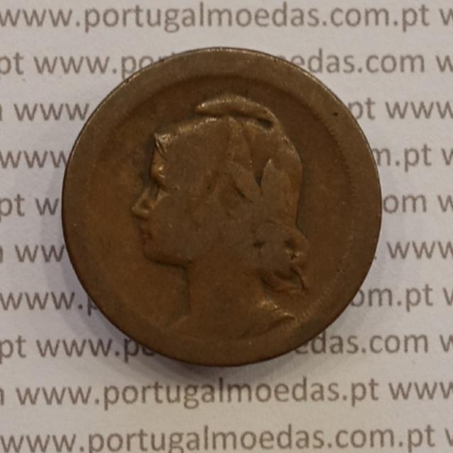 MOEDA DE VINTE CENTAVOS (20 CENTAVOS) BRONZE 1924 BC