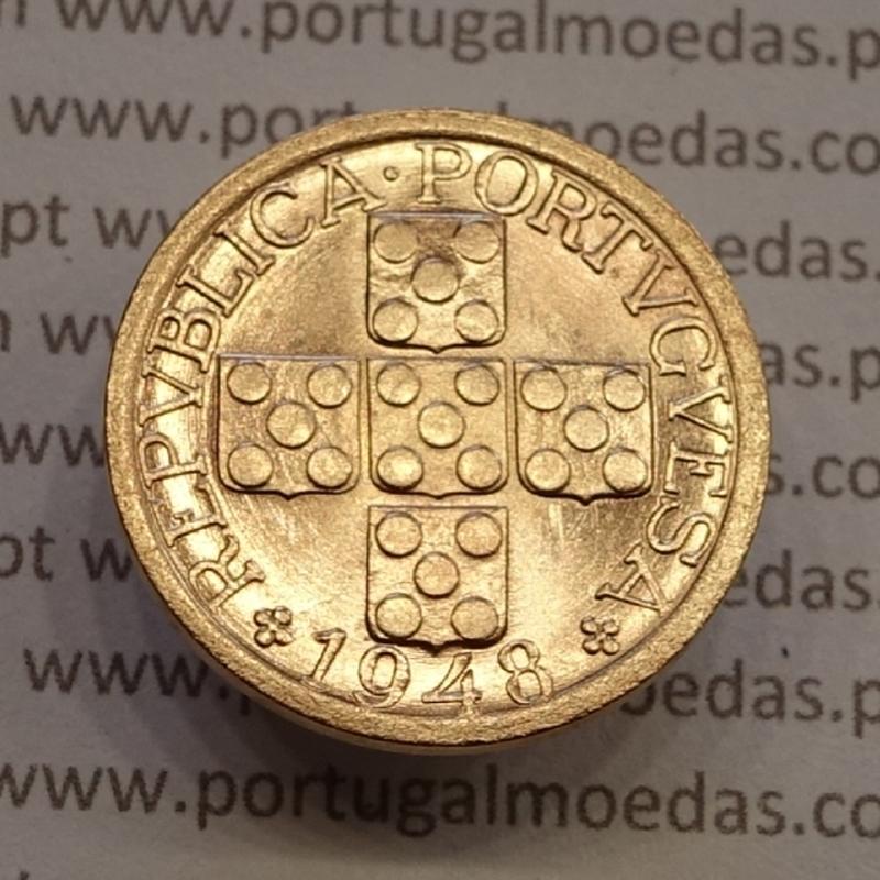 MOEDA DE VINTE CENTAVOS (XX CENTAVOS) BRONZE 1948 SOBERBA