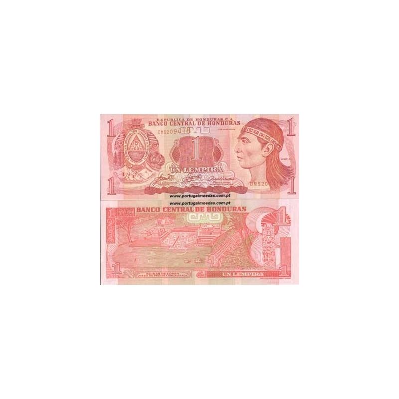 HONDURAS- NOTA DE 1 LEMPIRA 2006 (NÃO CIRCULADA)