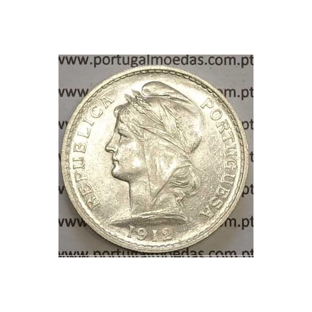 MOEDA DE CINQUENTA CENTAVOS (50 CENTAVOS) PRATA 1912 SOBERBA