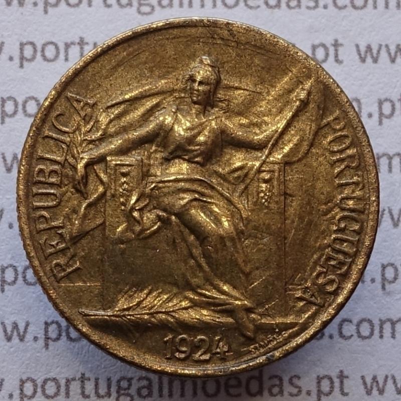 50 Centavos 1924 Bronze-Alumínio, com características inéditas possivelmente única conhecida.