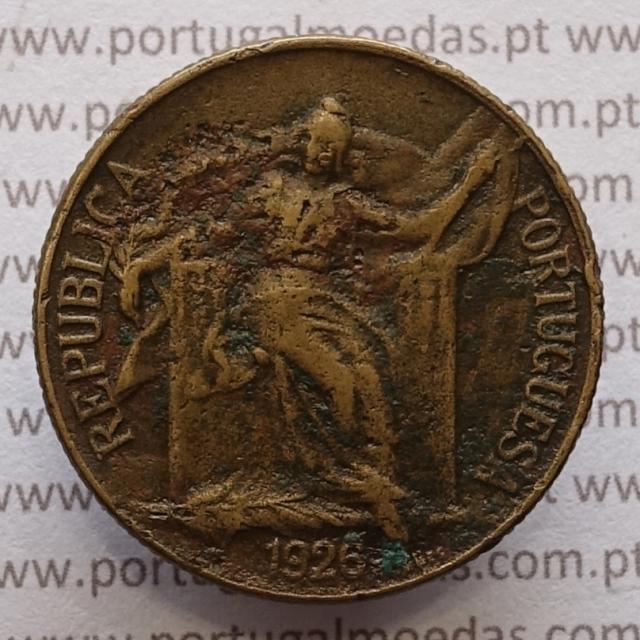 MOEDA DE UM ESCUDO (1$00) BRONZE ALUMÍNIO 1926