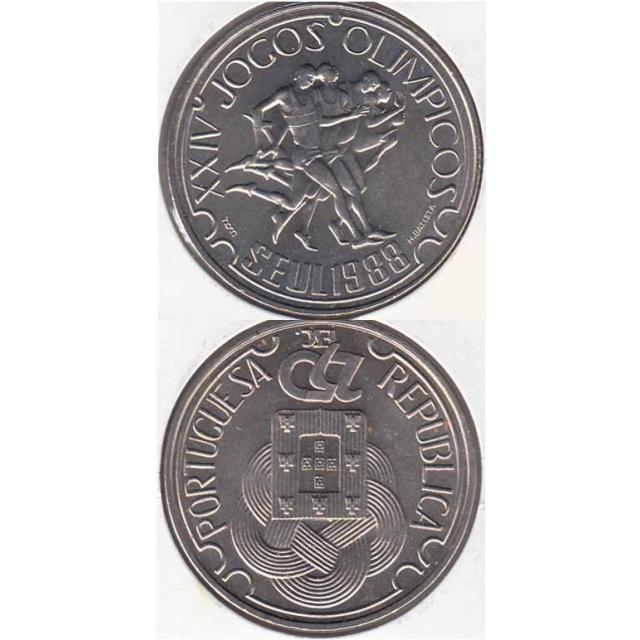 "250$00 CUPRO-NÍQUEL 1988 ""JOGOS OLÍMPICOS SEUL"" (BELA/SOB)"