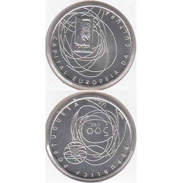 "500$00 PRATA 2001 ""PORTO 2001"" (BELA/SOB)"