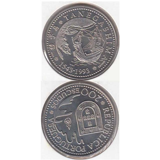 "200$00 CUPRO-NÍQUEL 1993 ""TANEGASHIMA"" (BELA/SOB)"