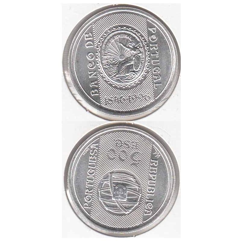 500 Escudos prata 1996 Banco de Portugal (moeda 500$00 Banco de Portugal)