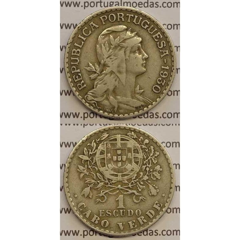 1$00 ALPACA 1930 (MBC) - CABO VERDE