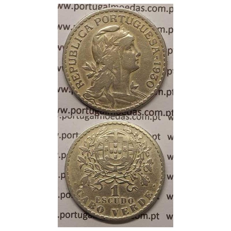 1$00 ALPACA 1930 (BC+) - CABO VERDE