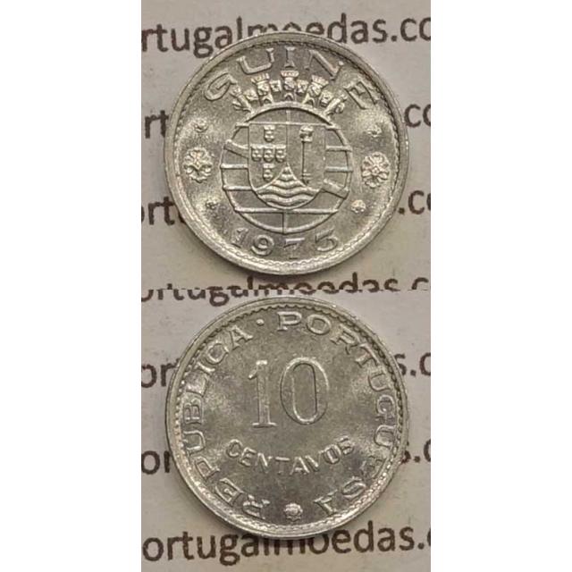 GUINÉ - 10 CENTAVOS ALUMÍNIO 1973 (SOB)